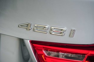2014 BMW 4 Series F36 428i Gran Coupe M Sport Silver 8 Speed Sports Automatic Hatchback