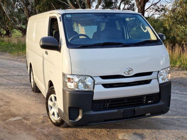Used Toyota HiAce KDH201R LWB Victor Harbor, 2017 Toyota HiAce KDH201R LWB White 4 Speed Automatic Van