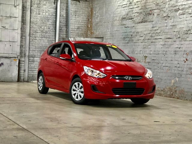 Used Hyundai Accent RB3 MY16 Active Mile End South, 2015 Hyundai Accent RB3 MY16 Active Red 6 Speed Constant Variable Hatchback