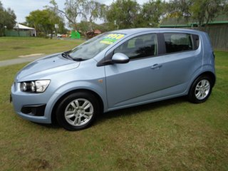 2012 Holden Barina TM MY13 CD Silver 6 Speed Automatic Hatchback.