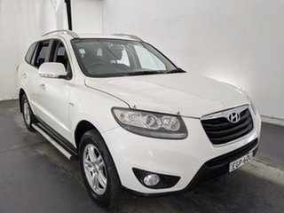 2009 Hyundai Santa Fe CM MY09 Elite White 5 Speed Sports Automatic Wagon.
