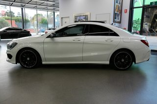 2016 Mercedes-Benz CLA-Class C117 806MY CLA200 DCT White 7 Speed Sports Automatic Dual Clutch Coupe