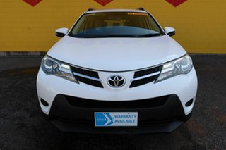 2015 Toyota RAV4 ASA44R MY14 GX White 6 Speed Sports Automatic Wagon.
