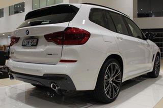 2021 BMW X3 G01 xDrive30i Steptronic M Sport Alpine White 8 Speed Sports Automatic Wagon.