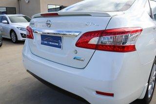 2013 Nissan Pulsar B17 ST-L White 1 Speed Constant Variable Sedan.