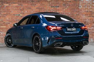2020 Mercedes-Benz A-Class V177 800+050MY A250 DCT 4MATIC Denim Blue 7 Speed.