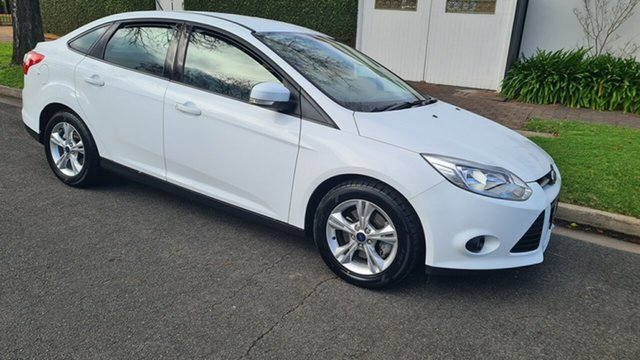 Used Ford Focus LW MK2 Trend Prospect, 2012 Ford Focus LW MK2 Trend White 6 Speed Automatic Sedan