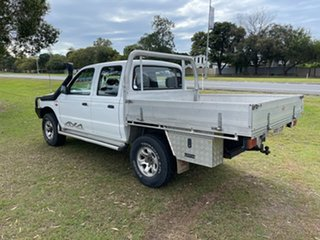 2000 Ford Courier PE GL Crew Cab White 5 Speed Manual Utility