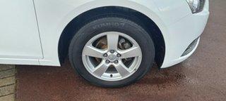 2011 Holden Cruze JG CD White 6 Speed Sports Automatic Sedan