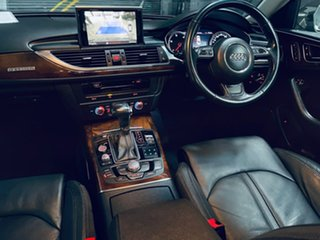 2012 Audi A6 4G MY13 S Tronic Quattro Grey 7 Speed Sports Automatic Dual Clutch Sedan.