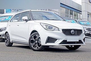2021 MG MG3 SZP1 MY21 Excite White 4 Speed Automatic Hatchback.