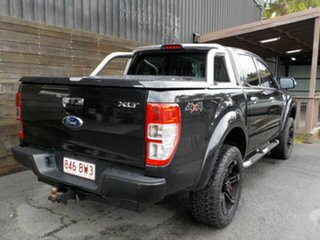 2014 Ford Ranger PX XLT Double Cab Black 6 Speed Sports Automatic Utility