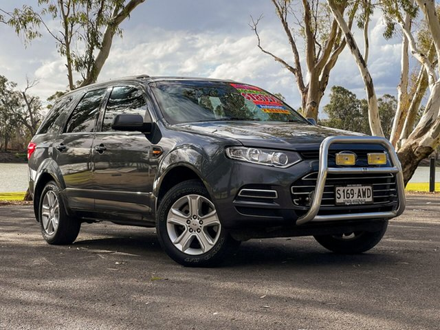 Used Ford Territory SZ TX (RWD) Loxton, 2013 Ford Territory SZ TX (RWD) Grey 6 Speed Automatic Wagon