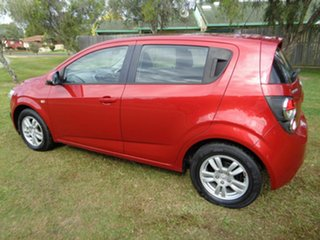 2012 Holden Barina TK MY11 Red 5 Speed Manual Hatchback