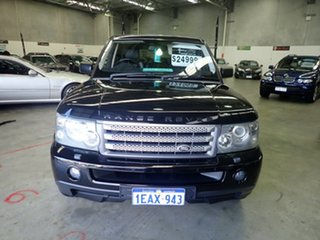 2007 Land Rover Range Rover MY07 Sport 2.7 TDV6 Java Black 6 Speed Auto Sequential Wagon.