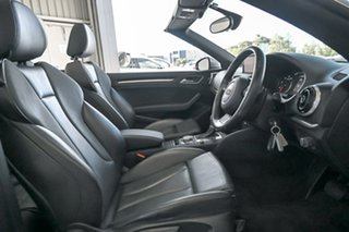 2014 Audi A3 8V MY15 Ambition S Tronic Silver 7 Speed Sports Automatic Dual Clutch Cabriolet