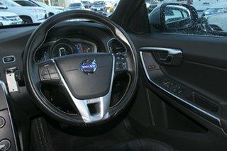 2014 Volvo S60 F Series MY14 T5 Geartronic R-Design Black 8 Speed Sports Automatic Sedan