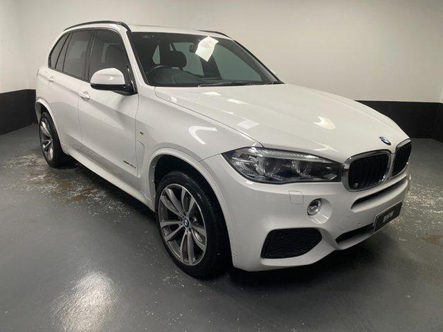 Used BMW X5 F15 xDrive30d Newcastle West, 2017 BMW X5 F15 xDrive30d Alpine White 8 Speed Sports Automatic Wagon