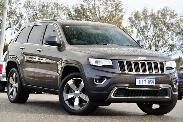 Used Jeep Grand Cherokee WK MY15 Limited Clarkson, 2015 Jeep Grand Cherokee WK MY15 Limited Grey 8 Speed Sports Automatic Wagon