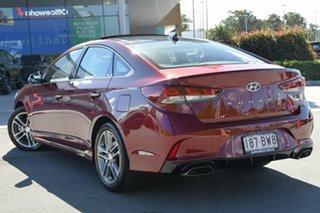 2017 Hyundai Sonata LF4 MY18 Premium Red 8 Speed Sports Automatic Sedan.