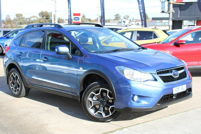 Used Subaru XV G4X MY15 2.0i-L Lineartronic AWD Ferntree Gully, 2015 Subaru XV G4X MY15 2.0i-L Lineartronic AWD Blue 6 Speed Constant Variable Wagon