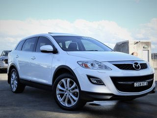 2012 Mazda CX-9 TB10A4 MY12 Grand Touring White 6 Speed Sports Automatic Wagon.