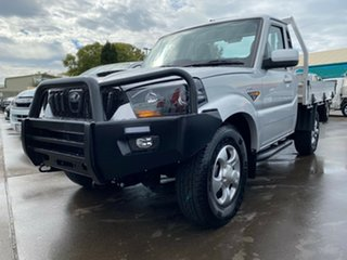 2018 Mahindra Pik-Up S6 MY18 4WD Silver 6 Speed Manual Cab Chassis