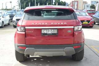 2014 Land Rover Range Rover Evoque L538 MY15 Coupe Prestige Red 9 Speed Sports Automatic Wagon
