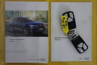 2015 Audi Q7 4M 3.0 TDI Quattro White 8 Speed Automatic Tiptronic Wagon