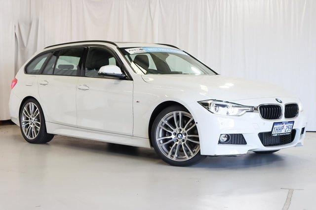 Used BMW 3 Series F31 LCI 330i Touring M Sport Wangara, 2016 BMW 3 Series F31 LCI 330i Touring M Sport White 8 Speed Sports Automatic Wagon
