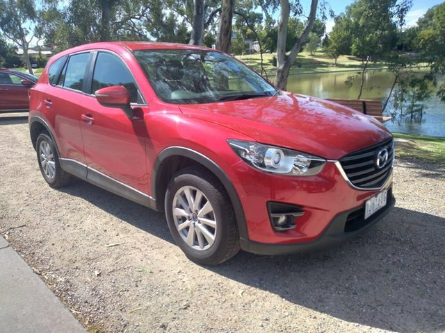 Used Mazda CX-5 KE1032 Maxx SKYACTIV-Drive i-ACTIV AWD Sport Wodonga, 2016 Mazda CX-5 KE1032 Maxx SKYACTIV-Drive i-ACTIV AWD Sport Red 6 Speed Sports Automatic Wagon