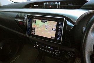 2017 Toyota Hilux GUN126R SR5 Double Cab Graphite 6 Speed Sports Automatic Utility