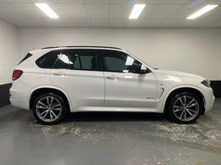 2017 BMW X5 F15 xDrive30d Alpine White 8 Speed Sports Automatic Wagon