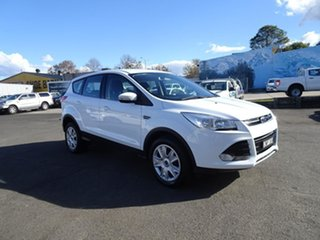 2014 Ford Kuga TF Ambiente AWD White 6 Speed Automatic Wagon.