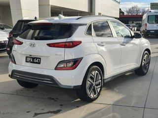 2021 Hyundai Kona Os.v4 MY21 electric Elite White 1 Speed Reduction Gear Wagon