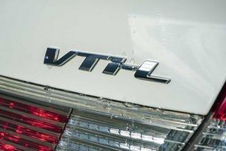2014 Honda Civic 9th Gen Ser II MY13 VTi-L White 5 Speed Sports Automatic Sedan