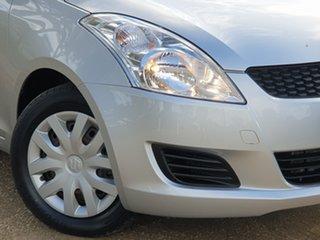 2013 Suzuki Swift FZ MY13 GL Silver 4 Speed Automatic Hatchback