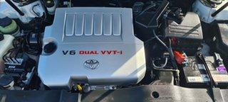 2007 Toyota Aurion GSV40R Presara White 6 Speed Sports Automatic Sedan.