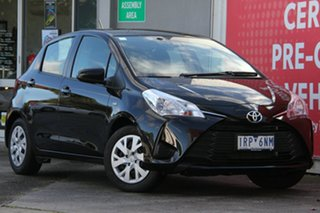 2019 Toyota Yaris NCP130R Ascent Ink 4 Speed Automatic Hatchback.
