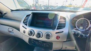 2013 Mitsubishi Triton MN MY14 GLX-R Double Cab White 5 Speed Sports Automatic Utility