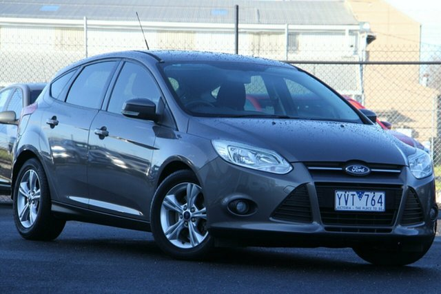 Used Ford Focus LW Trend Essendon Fields, 2011 Ford Focus LW Trend Brown 5 Speed Manual Hatchback