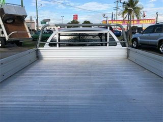 2003 Ford Falcon BA XLS White 4 Speed Sports Automatic Cab Chassis