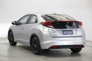 2014 Honda Civic 9th Gen MY14 VTi-L White 5 Speed Sports Automatic Hatchback.