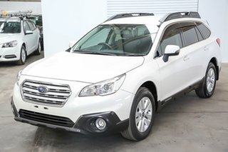 2016 Subaru Outback B6A MY16 2.0D CVT AWD White 7 Speed Constant Variable Wagon.