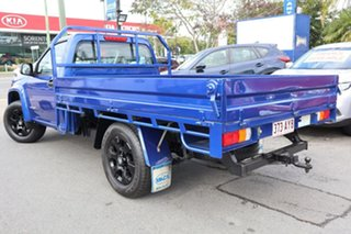 2009 Holden Colorado RC MY09 LX 4x2 Blue 4 Speed Automatic Cab Chassis