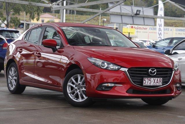 Used Mazda 3 BN5278 Touring SKYACTIV-Drive Bundamba, 2016 Mazda 3 BN5278 Touring SKYACTIV-Drive Red 6 Speed Sports Automatic Sedan