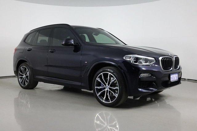 Used BMW X3 G01 xDrive30i M Sport Bentley, 2017 BMW X3 G01 xDrive30i M Sport Carbon Black 8 Speed Automatic Wagon