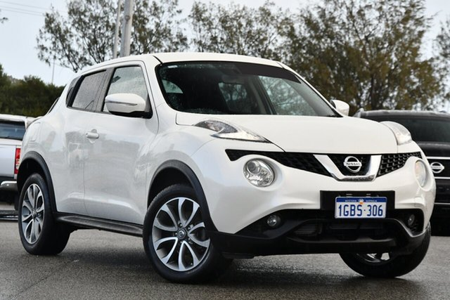Used Nissan Juke F15 Series 2 ST X-tronic 2WD Clarkson, 2016 Nissan Juke F15 Series 2 ST X-tronic 2WD White 1 Speed Constant Variable Hatchback
