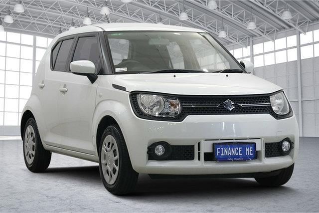 Used Suzuki Ignis MF GL Victoria Park, 2017 Suzuki Ignis MF GL White 1 Speed Constant Variable Hatchback