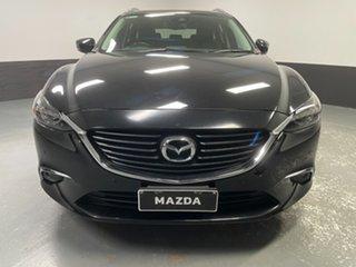 2017 Mazda 6 GL1031 GT SKYACTIV-Drive Black 6 Speed Sports Automatic Wagon.